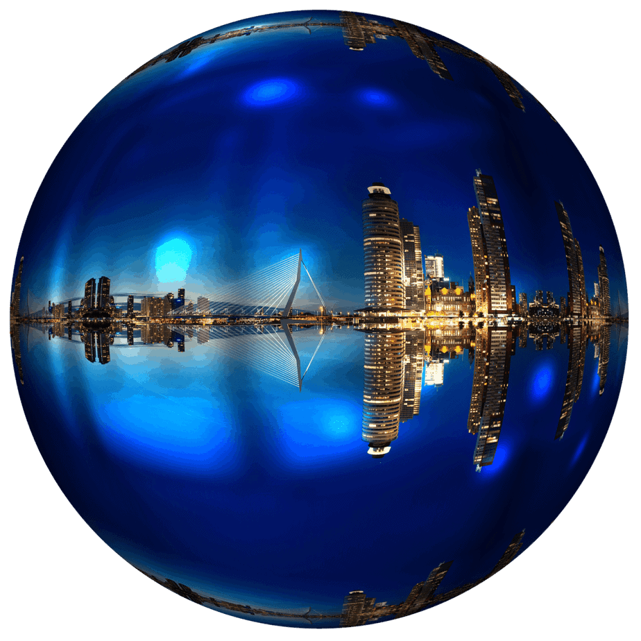 rotterdam, skyline, architecture